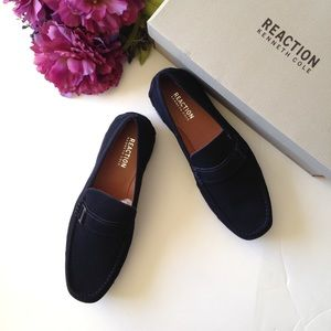Kenneth Cole Reaction Later Driver Suede Loafers